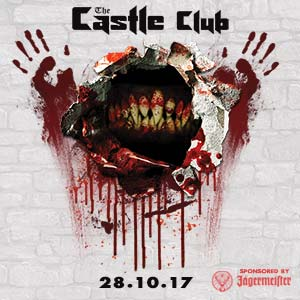 Castle club halloween jagermeister party