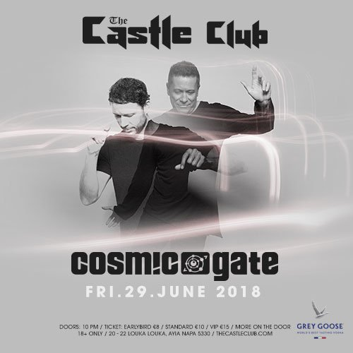 Cosmic gate castle club tickets the castle club grey goose cosmic gate castle club friday 29th june grey goose malvernweather Image collections